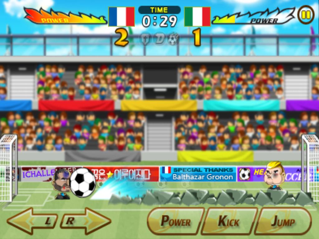 Head soccer Italy