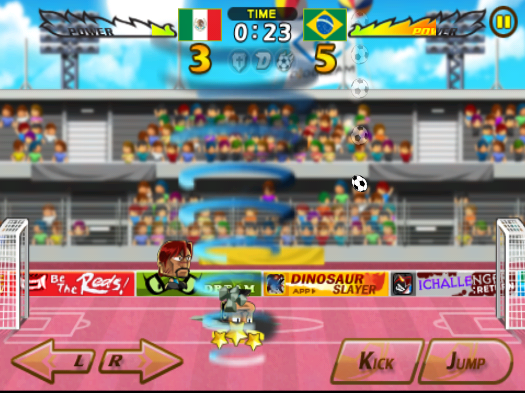 Head soccer Mexico