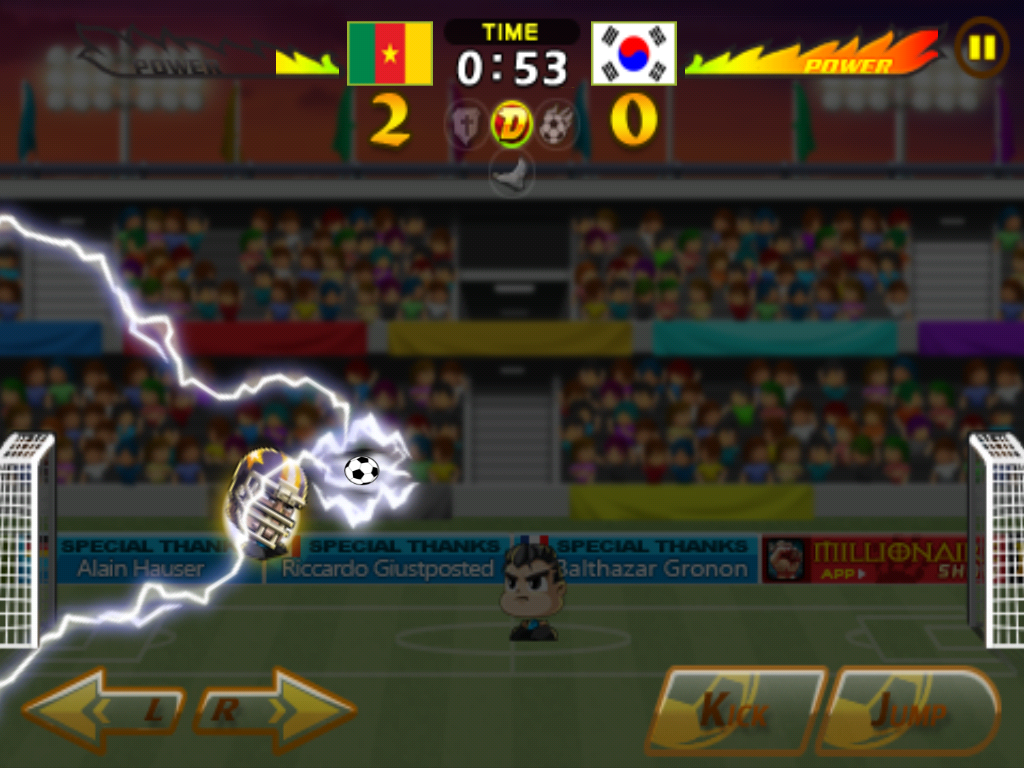 Head Soccer Cameroon