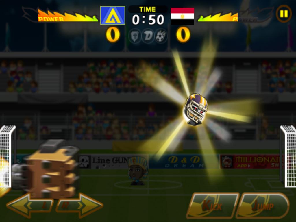 Head Soccer Cyborg