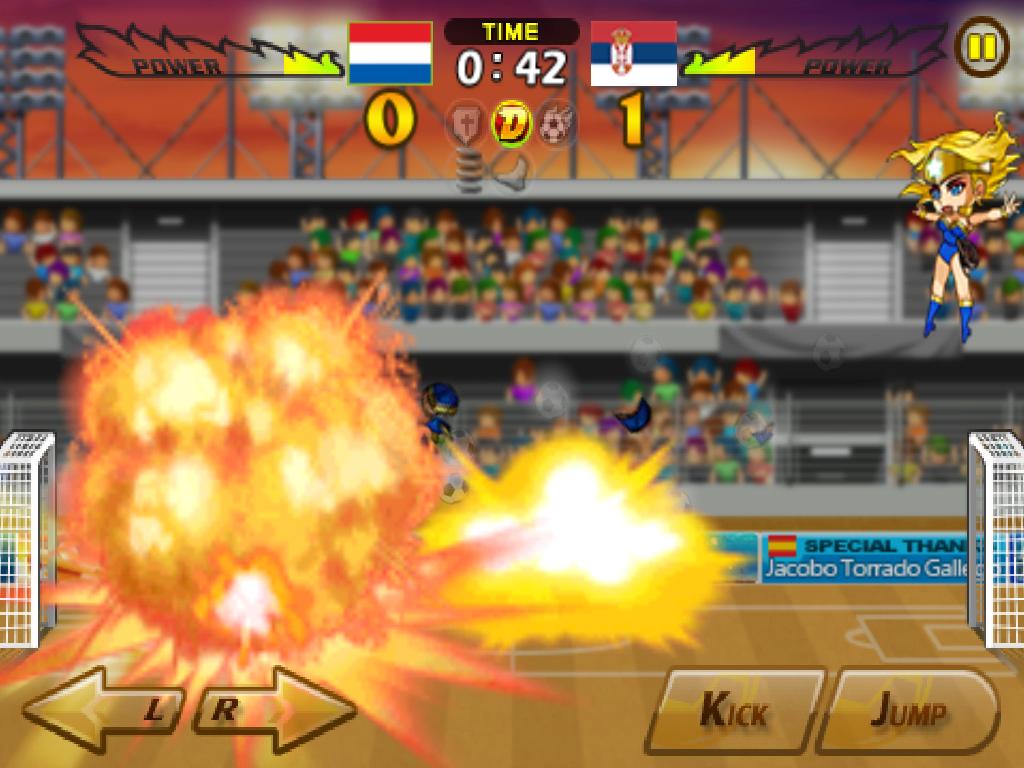 Head Soccer Сербия