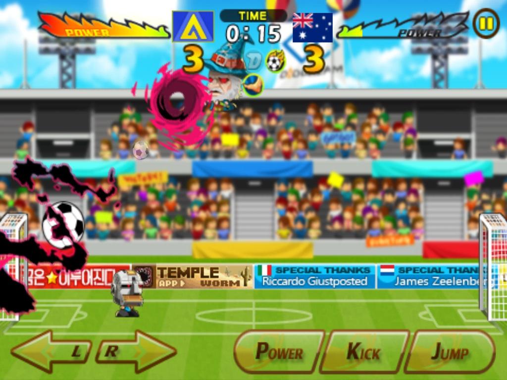 Head Soccer_Австралия