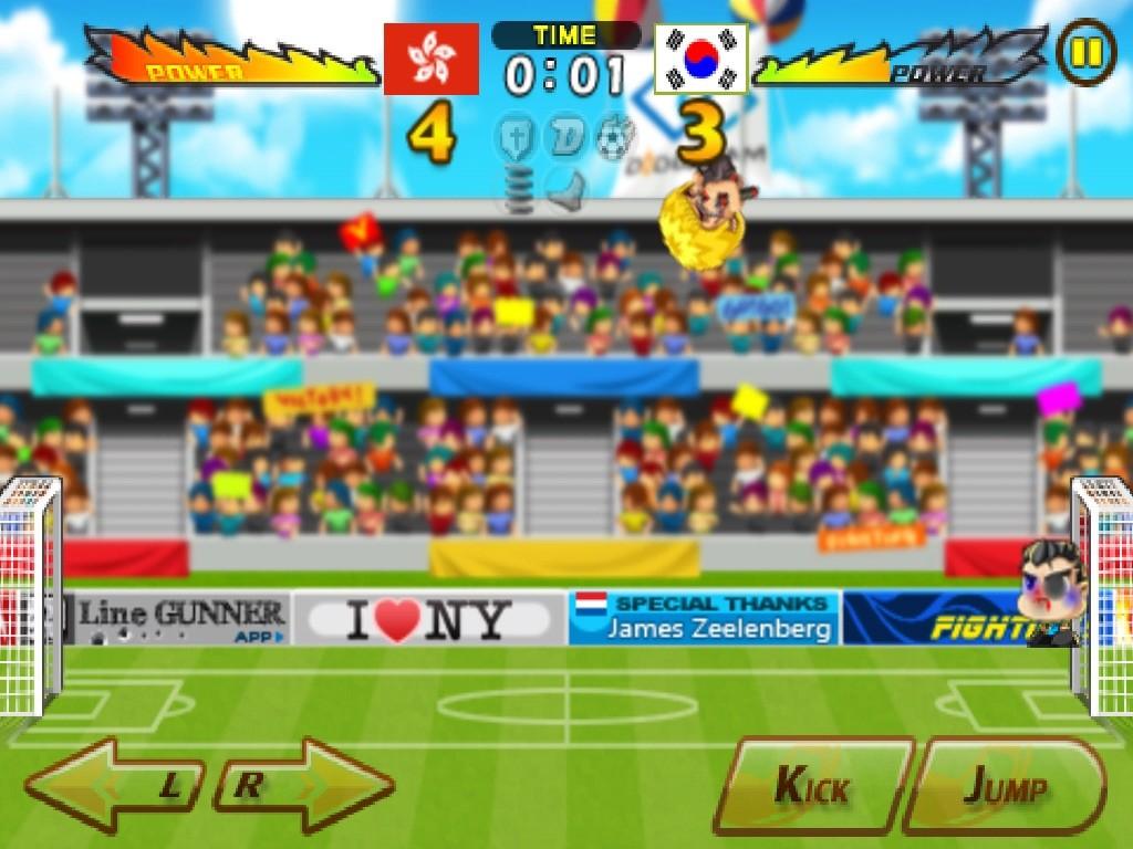 Head Soccer Hon Kong