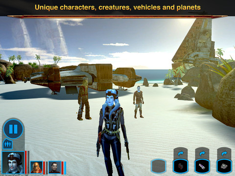 Star Wars: Knights of the Old Republic ipad
