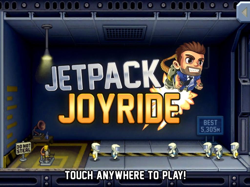 jetpack joyride на ipad1