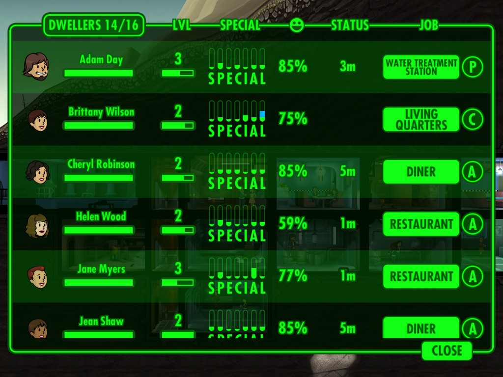 fallout-shelter-прохождение 2