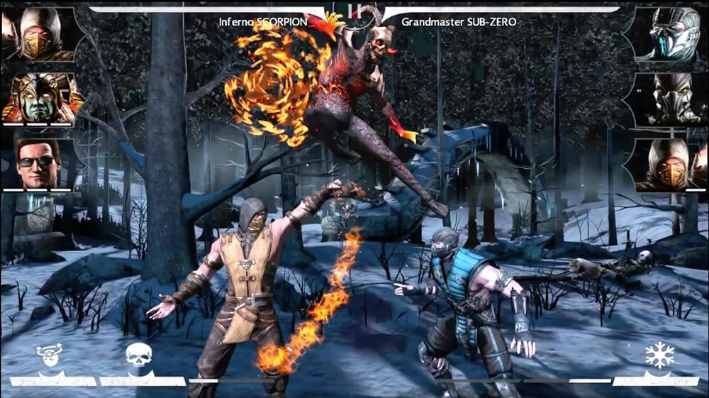 Mortal Kombat X Mobile 1