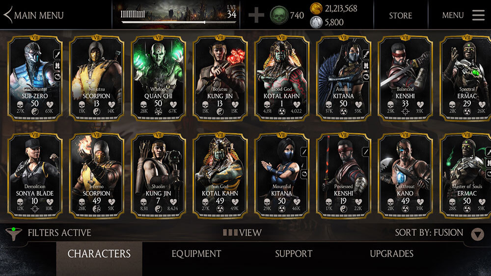 Mortal Kombat X Mobile 4